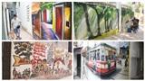 Những con phố bích họa dành cho giới trẻ 'sống ảo' giữa lòng Thủ đô