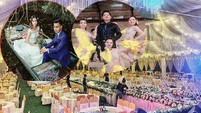 Đám cưới 'siêu khủng' của cô dâu SN 2000, chú rể SN 1998: Mời ca sĩ Ngọc Sơn, thuê giàn giao hưởng về biểu diễn