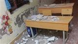 Trần nhà sập trúng đầu, 3 học sinh ở Hải Phòng nhập viện cấp cứu