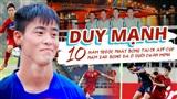 Duy Mạnh: 10 năm trước nhặt bóng tại CK AFF Cup 2008, 10 năm sau bóng đã ở dưới chân mình