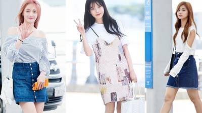 Thời trang sân bay đơn giản mà đẹp của mỹ nhân Hàn