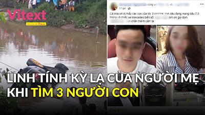 Linh tính kỳ lạ của người mẹ khi tìm 3 người con trong xe Mercedes chìm dưới kênh