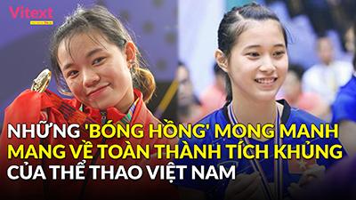 Những bóng hồng 'xinh như mộng' mang về thành tích khủng cho thể thao Việt Nam
