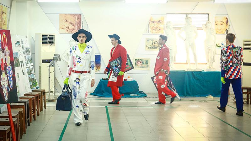 Đến HUTECH, học tổ chức 'fashion show' như sinh viên ngành Thiết kế thời trang