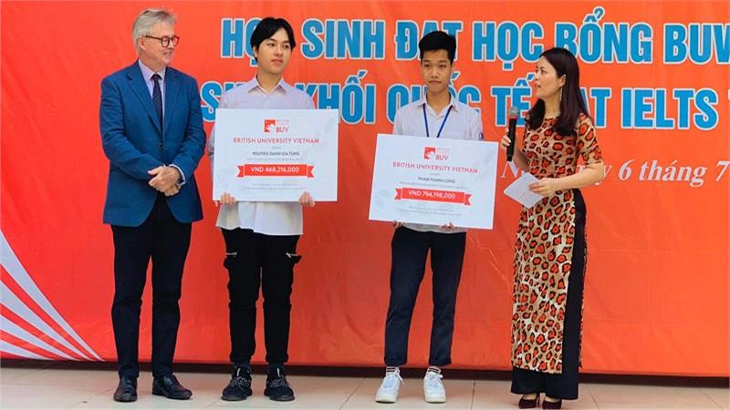 Trường Đại học Anh Quốc Việt Nam dành suất học bổng trị giá 1 tỷ VNĐ cho học sinh có hoàn cảnh khó khăn
