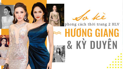 'So kè' phong cách thời trang của 2 HLV Hương Giang và Kỳ Duyên