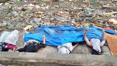Động đất, sóng thần tại Indonesia: Đã có 384 người thiệt mạng