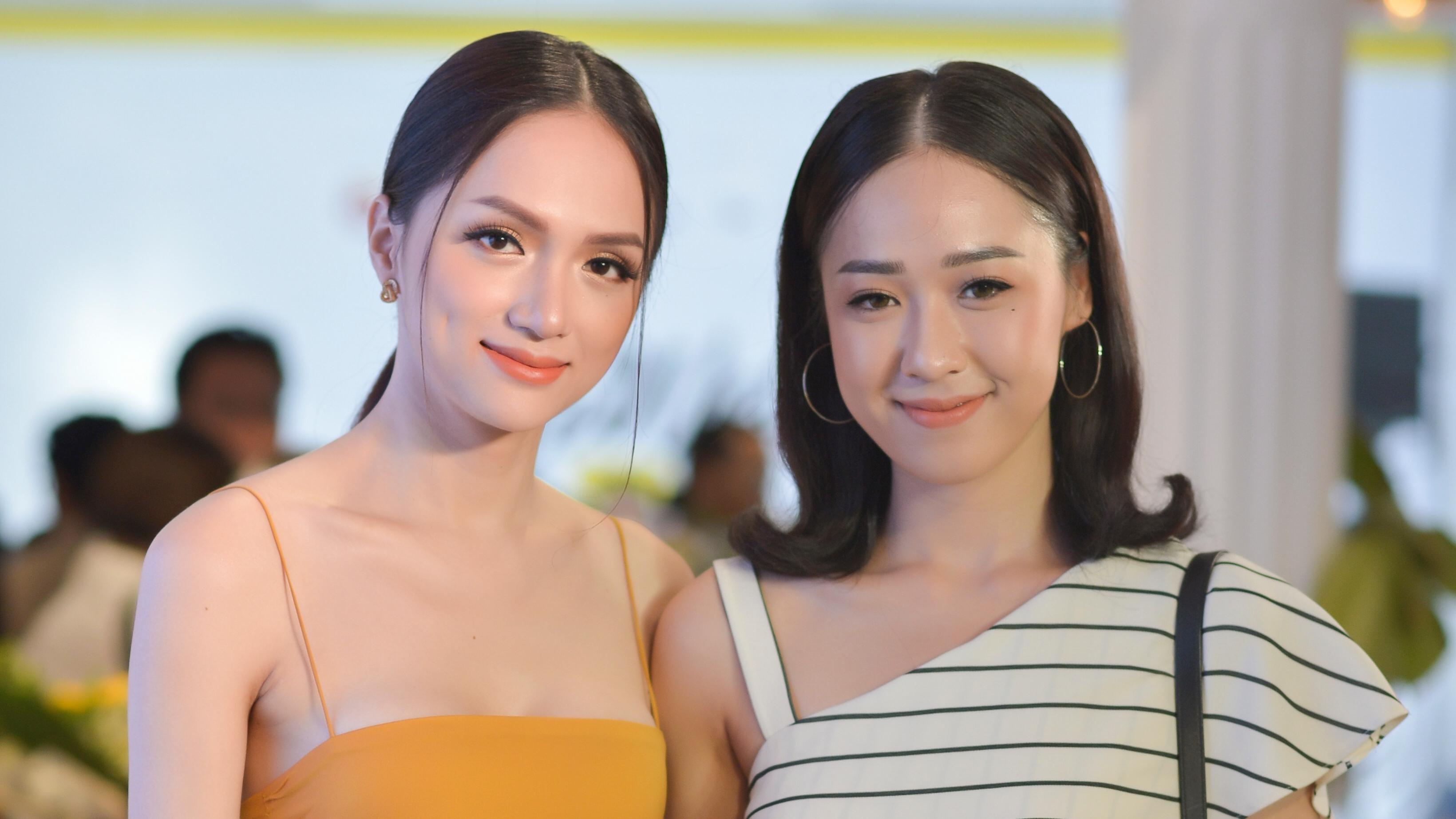 Hoa hậu Hương Giang diện đầm ôm sát, khoe vóc dáng 'vạn người mê'