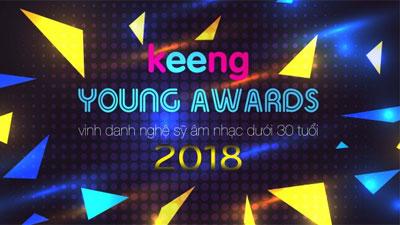 Lộ diện Top 5 đề cử 'Keeng Young Awards 2018'