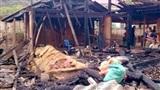 Chồng đốt nhà, vợ chết cháy: Đòi lấy vợ mới