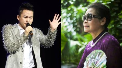 Tùng Dương song ca cùng nữ ca sĩ Khánh Ly trong đêm nhạc 'Người về bỗng nhớ'