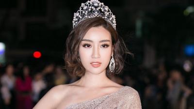Đỗ Mỹ Linh ngồi 'ghế nóng' cuộc thi nhan sắc 'Hoa hậu Doanh nhân Việt - Hàn 2019'
