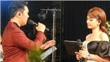 Lê Hiếu nồng nàn bên Dương Hoàng Yến trong đêm nhạc tại Hà Nội