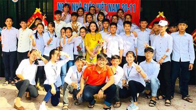 Gần 40 học sinh trong một lớp tại Nghệ An đỗ vào các trường đại học nổi tiếng