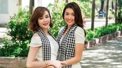 Á hậu Lệ Hằng, Hoa hậu Sella Trương rạng rỡ trên giảng đường