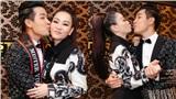 Nguyên Khang tinh nghịch hôn 'đàn chị' Thu Minh trong hậu trường chung kết Mister Vietnam