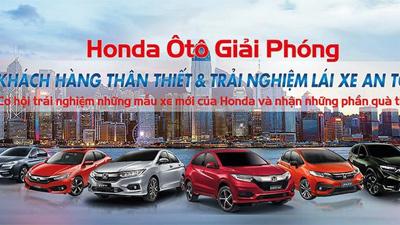 Trải nghiệm lái xe an toàn với Honda ôtô Giải Phóng ngày 21/9