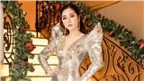 Hoa hậu Tô Diệp Hà diện váy tôn dáng, khoe ba vòng gợi cảm