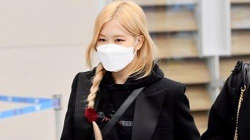 Streetstyle sao Hàn mùa dịch Corona: Hai em út Black Pink khoe đồ hiệu, đeo khẩu trang nhưng chưa trùm kín mít như ông anh Mino