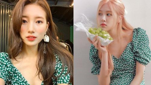 Bắt trend sau Suzy tận 2 năm nhưng Rosé vẫn quá xinh với kiểu đầm này, gái Hàn cũng đang diện theo sát nút