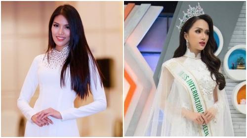 Áo dài trắng trên đấu trường quốc tế: Lan Khuê hack tuổi, Hương Giang kiều diễm như nữ hoàng