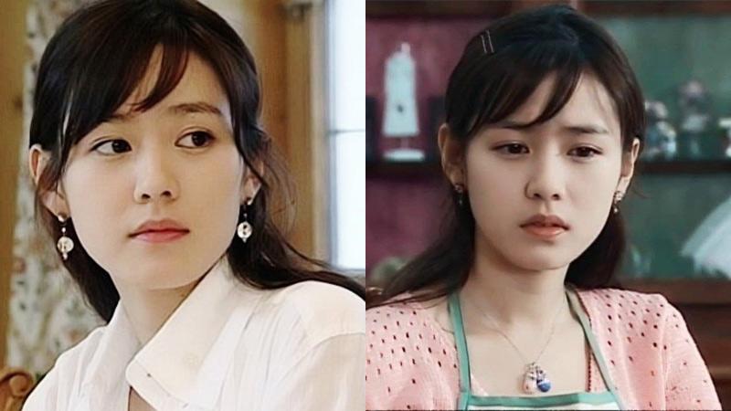 Xưa kia Son Ye Jin tô son nhạt toẹt, để tóc sên sến mà vẫn đẹp ngây dại