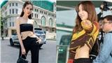 Cùng sở hữu vòng eo bé siêu thực và chăm diện crop top, Taeyeon luôn tinh tế còn Ngọc Trinh thì hên xui