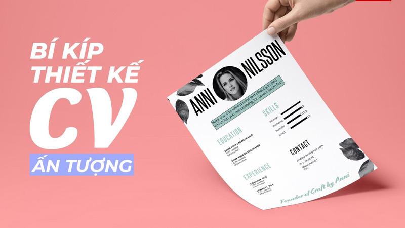 5 bí kíp để tạo một CV đơn giản