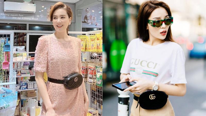 Trước danh sách dài dằng dặc các người đẹp Vbiz diện túi Gucci, MC Mai Ngọc lại 'một mình một kiểu' lên đồ chẳng giống ai