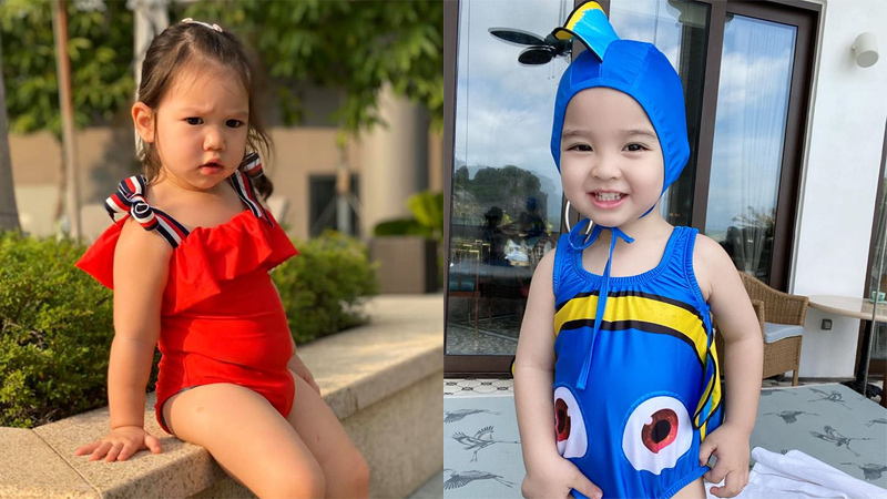 Mùa hè xinh xắn của hội hot kid: Sữa 'chủ tịch' cosplay cá Nemo đi bơi, quý cô Myla chuyên phá đám phụ huynh 'sống ảo'