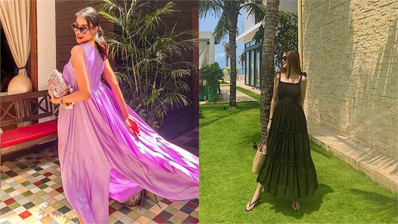 Lan Khuê, Hoa hậu Phương Khánh mê mẩn kiểu đầm tùng xòe ngọt như kẹo
