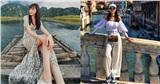 Style đi du lịch của Hương Giang thực sự xuất sắc, chị em không học hỏi là tiếc lắm cho xem!