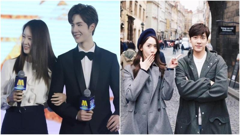Những mối quan hệ khó tin của sao Hoa - Hàn: Lý Dịch Phong và Yoona thân đến nỗi bị đồn hẹn hò, nụ cười hiếm hoi của Vương Nhất Bác chỉ dành cho cô gái này