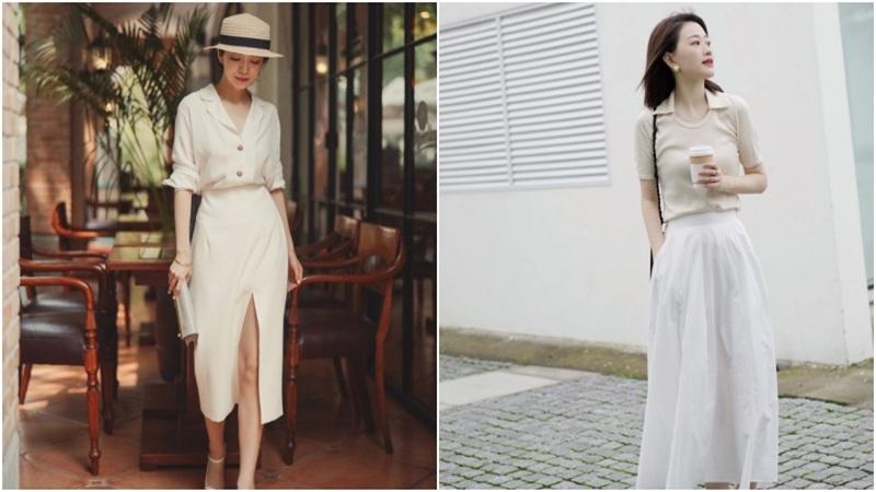 10 set đồ với chân váy giúp bạn không phải đau đầu nghĩ việc mặc gì mỗi sáng đầu tuần