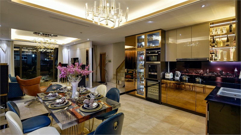 Đi tìmsự sang trọng trong phong cách Luxury của Bella Home