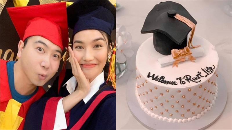 Lan Khuê tổ chức sinh nhật cho ông xã John Tuấn Nguyễn như... tiệc tốt nghiệp