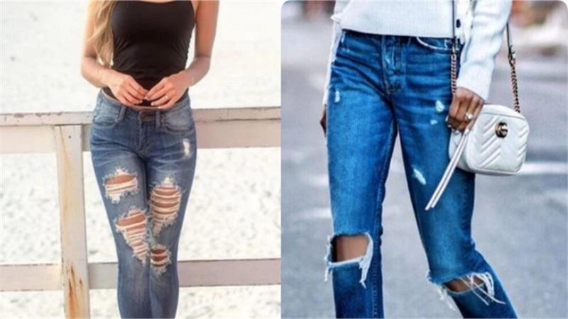 Đừng biến đôi chân thành 'khúc giò' với kiểu quần jeans này: Nàng chân to nắm rõ 4 tips sau thì tha hồ mặc đẹp