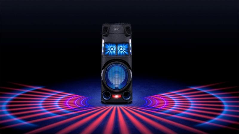 Làm chủ bữa tiệc theo phong cách riêng của bạn cùng bộ đôi hệ thống âm thanh công suất cao Sony MHC-V13 & MHC-V43D