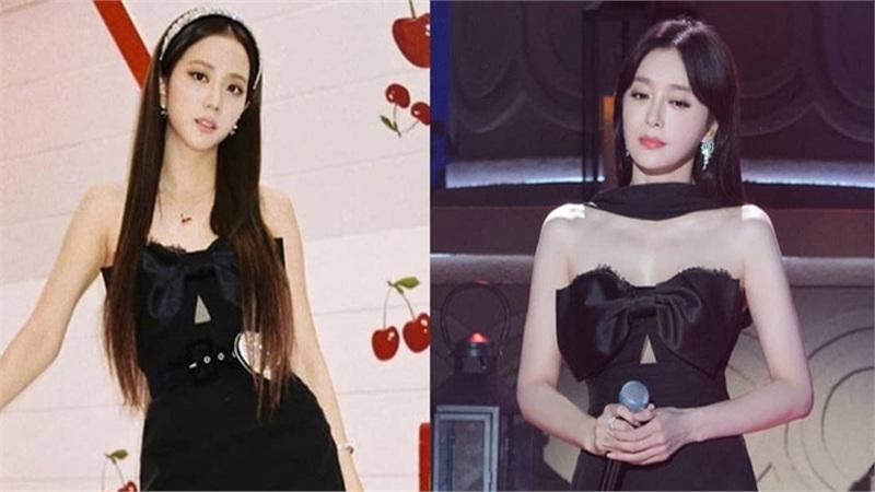 Jisoo đụng hàng với nàng 'Mẫu nghi thiên hạ': Idol xinh như Hoa hậu nay đã gặp đối thủ đáng gờm