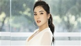 Hoa hậu Kỳ Duyên úp mở chuyện tình cảm, thừa nhận tình yêu đang 'thăng hoa'