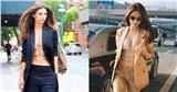 Ngọc Trinh 'học hỏi' thiên thần nội y Emily Ratajkowski diện bikini với suit để 'phô' trọn body hoàn mỹ