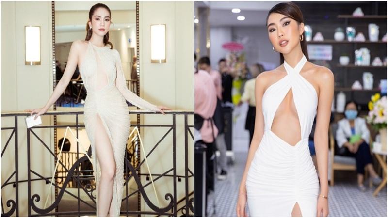 Sao Việt khoe khe ngực với váy khoét vô cực: Ngọc Trinh còn chưa xi nhê gì với mỹ nhân này
