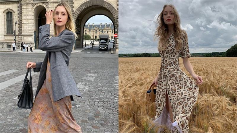 Trời se lạnh mà 'quẩy' váy dáng dài là style sẽ yêu kiều như gái Pháp, điểm sang chảnh cũng tăng ngùn ngụt