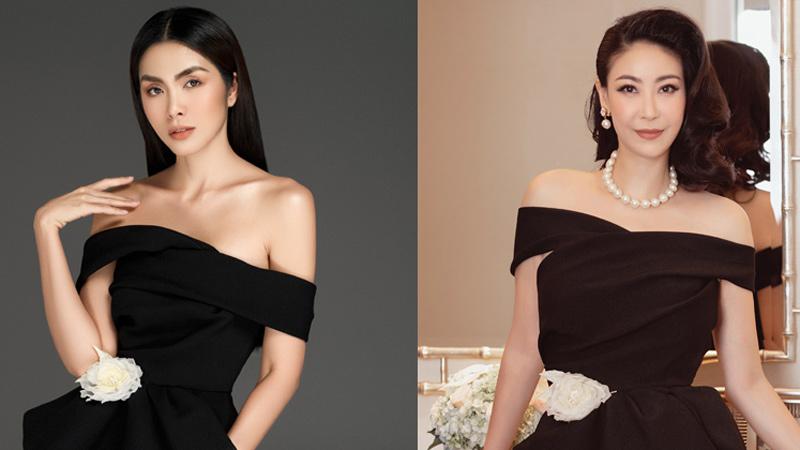 Cùng một kiểu trang phục, mỹ nhân Việt biến hoá đa dạng khó tin