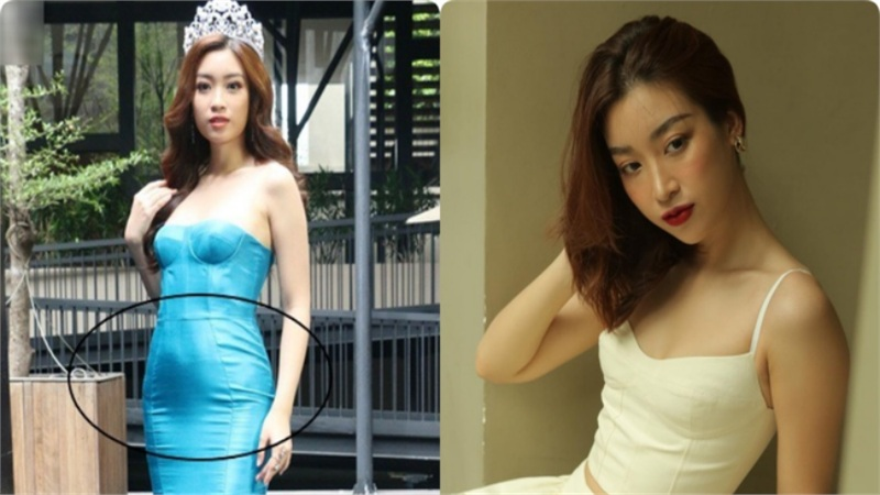 Không chỉ Nữ thần Kim Ưng, nhiều sao Việt cũng bị lộ dáng béo tròn bụng mỡ vì thiết kế váy đuôi cá