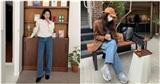 Mùa lạnh 2020, quần skinny jeans sẽ bị soán ngôi bởi một mẫu quần jeans mà nàng chân 'cột đình' cũng thừa sức mặc đẹp