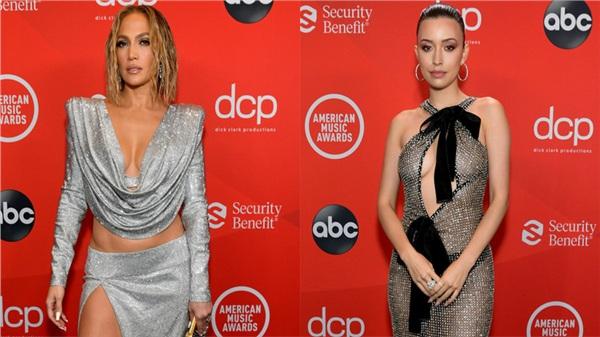 Dàn sao Hollywood đổ bộ thảm đỏ AMAs 2020: Từ mặt đơ như tượng sáp cho tới tạo báo diện váy 'lưới đánh cá' lộ nguyên vòng 1