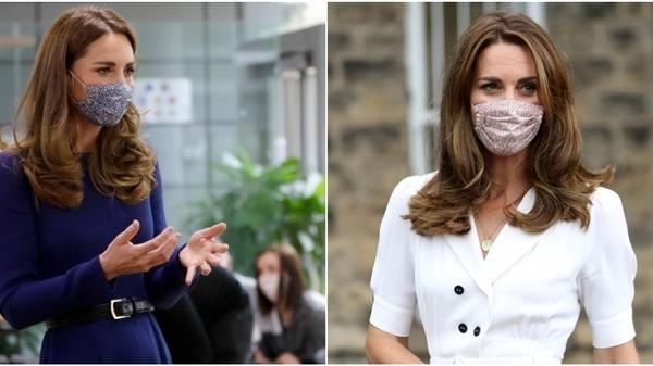 Mẫu khẩu trang 'tủ' của Công nương Kate gây sốt mạnh mẽ vì nâng cấp vẻ xinh tươi, sành điệu cho cả set trang phục