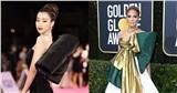 Hoa hậu Đỗ Mỹ Linh, Jennifer Lopez gây tốn giấy mực báo chí với váy nơ khủng