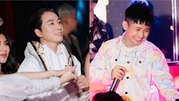 Dàn ca sĩ, rapper trẻ hội tụ, Karik bất ngờ xuất hiện cổ vũ và còn được học trò Ricky Star gọi là 'bé ngoan'